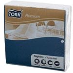 Servetele de masa, 40x40 cm, 1 strat, albastre - Premium textile feel