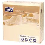 Servetele de masa, 40x40 cm, 1 strat, crem - Premium textile feel