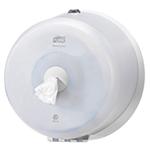 Dispenser din plastic pentru hartie igienica in rola Mini Jumbo, alb - SmartOne Mini