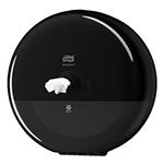Dispenser din plastic pentru hartie igienica in rola Maxi Jumbo, negru - SmartOne