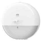 Dispenser din plastic pentru hartie igienica in rola Maxi Jumbo, alb - SmartOne