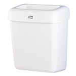 Cos de gunoi din plastic, alb, 20 L