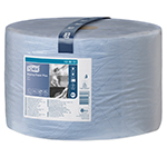 Rola industriala de hartie, albastra, 510 m - W1