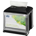 Dispenser din plastic pentru servetele de masa, negru/gri - Xpressnap Snack