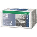 Lavete industriale din hartie, pliate, albe, 40 buc - W8