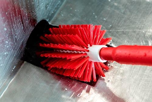 Importanta actiunii mecanice din timpul igienizarii, in indepartarea eficienta a unui biofilm