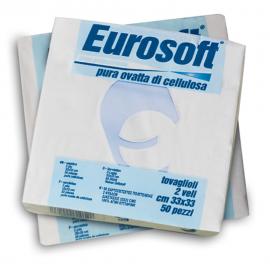 Servetele de masa 30x30 cm, albe - Eurocarta