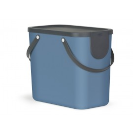 Cos colectare selectiva deseuri Albula 25L, albastru - Rothopro