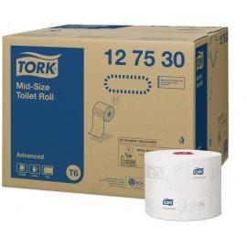 Hartie igienica rola compacta - Tork Twin Mid-Size