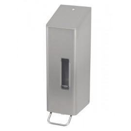 Dispenser sapun lichid / dezinfectant SanTRAL cu levier, 1200 ml, inox - OpHardt