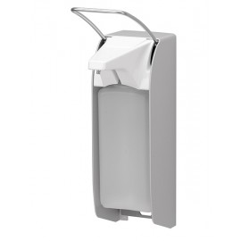 Dispenser sapun lichid / dezinfectant Ingo-Man cu levier, 1000 ml, aluminiu - OpHardt