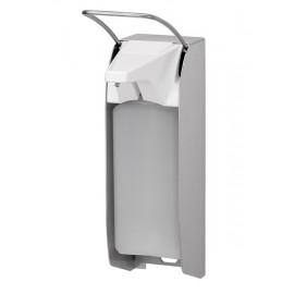 Dispenser sapun lichid sau dezinfectant cu levier, 1000 ml, inox - OpHardt