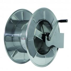 Tambur cu actionare manuala din inox pentru furtun 65 m, AVM9920 - Ramex