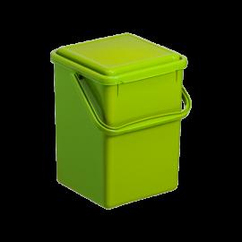 Cos gunoi menajer/organic Bio 9,7L, verde