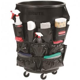 Sac accesorii curatenie container Brute negru
