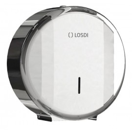 Dispenser hartie igienica rola mini jumbo, gri - Losdi