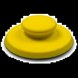Suport pad circular 150 mm, galben