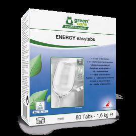 Energy Easytabs - Tablete ecologice pentru masina de spalat vase, 80 tablete/cutie