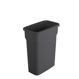 Container mediu colectare selectiva deseuri Selecto 55L, negru
