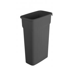 Container mare colectare selectiva deseuri Selecto 70L, negru