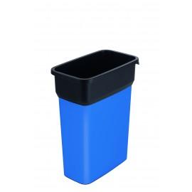 Container mediu colectare selectiva deseuri Selecto Premium 55L, albastru