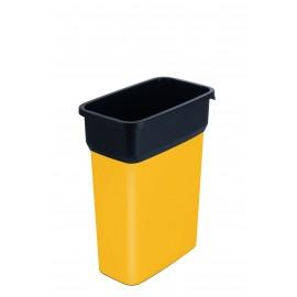 Container mediu colectare selectiva deseuri Selecto Premium 55L, galben