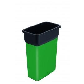 Container mediu colectare selectiva deseuri Selecto Premium 55L, verde