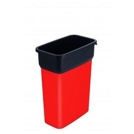 Container mediu colectare selectiva deseuri Selecto Premium 55L, rosu