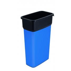 Container mare colectare selectiva deseuri Selecto Premium 70L, albastru