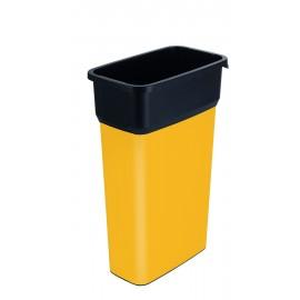 Container mare colectare selectiva deseuri Selecto Premium 70L, galben