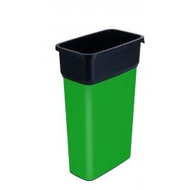 Container mare colectare selectiva deseuri Selecto Premium 70L, verde