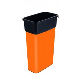 Container mare colectare selectiva deseuri Selecto Premium 70L, portocaliu