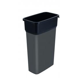 Container mare colectare selectiva deseuri Selecto Premium 70L, gri
