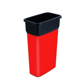 Container mare colectare selectiva deseuri Selecto Premium 70L, rosu