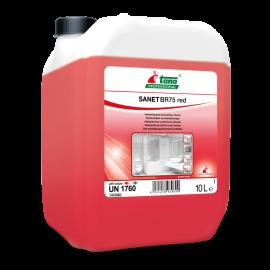 Sanet BR 75 Red - Agent de curatare sanitar 10L