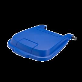 Capac pentru pubela Atlas 100L, albastru