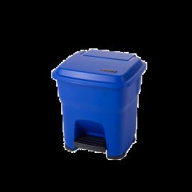 Cos gunoi cu pedala Hera 35L, albastru