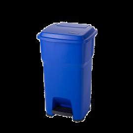 Cos gunoi cu pedala Hera 60L, albastru