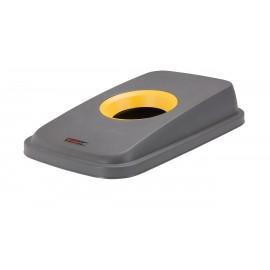 Capac deseuri cutii pentru container Selecto 55L/70L, galben
