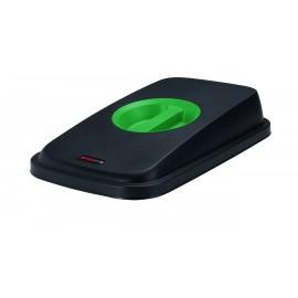 Capac deseuri cu maner pentru container Selecto Premium/Geo 55L/70L, verde