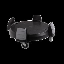 Carucior containere Titan 85L/120L,negru