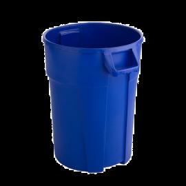 Container mare rotund Titan 120L, albastru