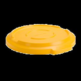Capac pentru container mare rotund Titan 120L,galben