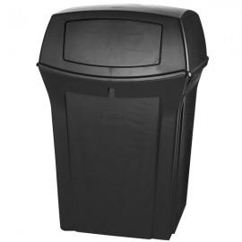 Container Ranger cu trapa superioara 170.3 L, negru - Rubbermaid