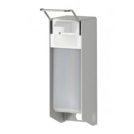 Dispenser sapun lichid / dezinfectant Ingo-Man Clasic cu levier, 1000 ml, aluminiu - OpHardt