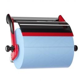 Dispenser perete role-lavete industriale, rosu/negru - Tork