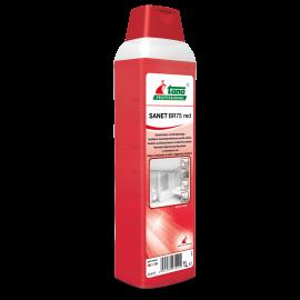 Sanet BR 75 Red - Agent de curatare sanitare 1L - Tana Professional