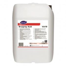 DI Bruspray Acid VA19 20 L - Detergent acid nespumant - Diversey