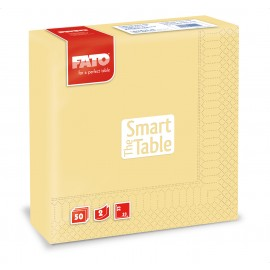 Servetele 33x33 cm 2 straturi, Smart Table, galben sampanie - Fato
