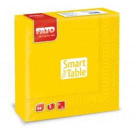 Servetele 33x33 cm 2 straturi, Smart Table, galbene - Fato